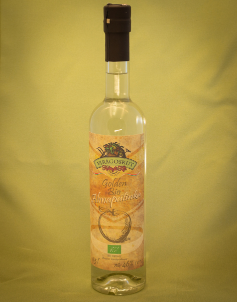Bio almapálinka -Golden- 500ml 46%
