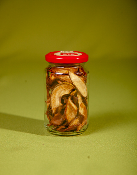 Bio aszalt alma -bőralma- 70g