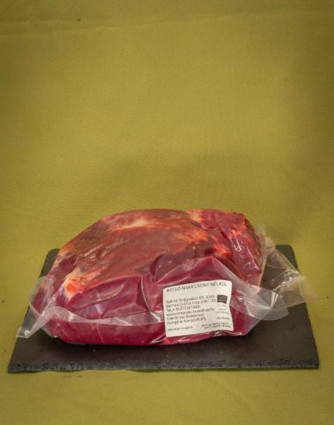 Bio ló nyak csont nélkül, 5kg felett