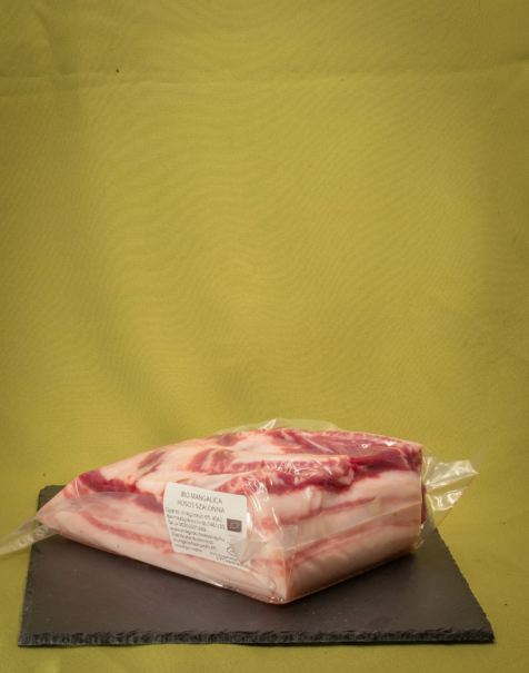 Bio mangalica nyers húsos szalonna