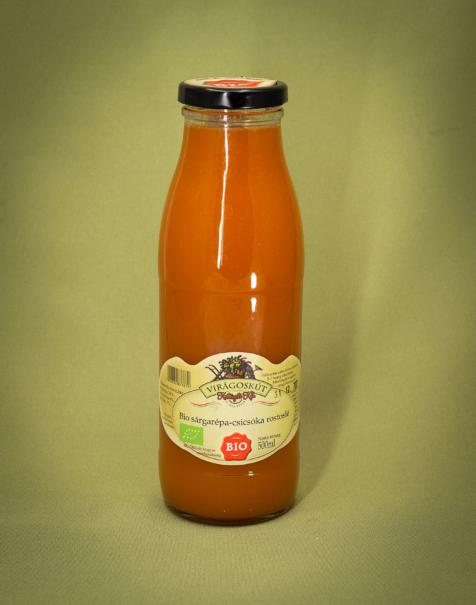 Bio sárgarépa-csicsóka rostoslé 500ml