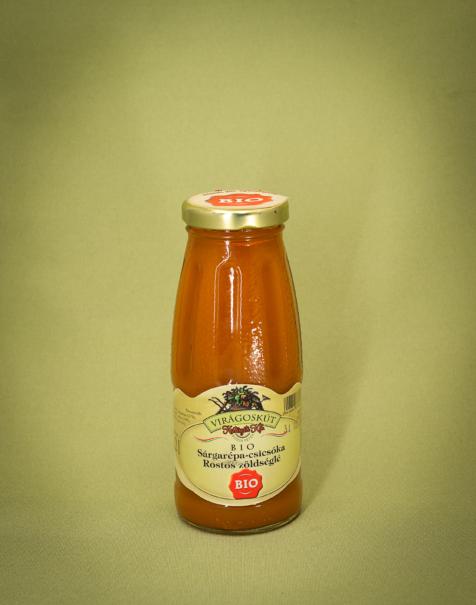 Bio sárgarépa-csicsóka rostoslé 200ml