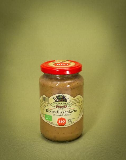 Bio padlizsánkrém 340g -olivaolajjal készült-