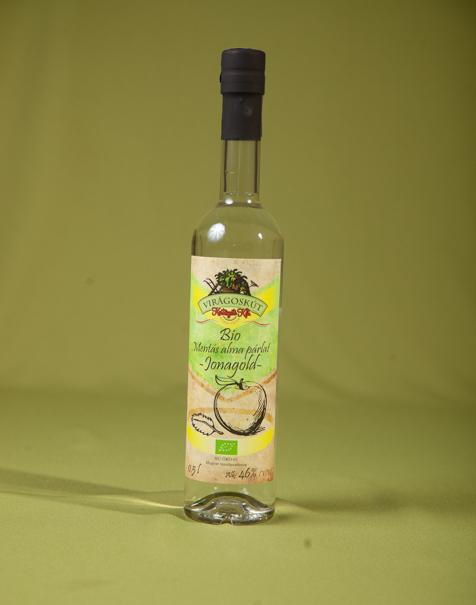 Bio mentás alma párlat -Jonagold- 500ml 46%, díszdobozban