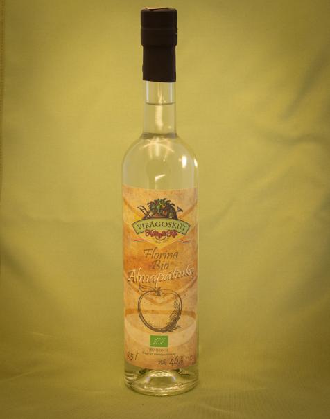 Bio almapálinka -Florina- 500ml 46%
