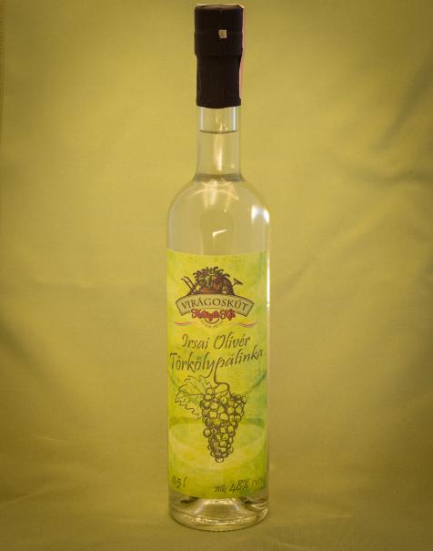 Irsai Olivér törkölypálinka 500ml 48%