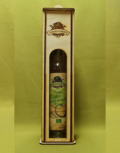 Bio mentás alma párlat -Prima- 500ml 46%, díszdobozban