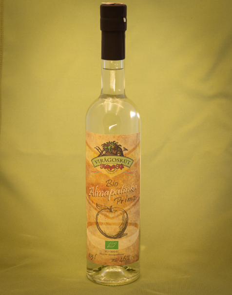 Bio almapálinka -Prima- 500ml 46%