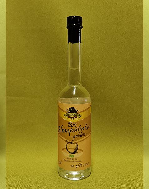 Bio almapálinka -golden- 100ml 46%