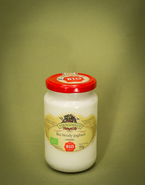 Bio bivaly joghurt 350g -natúr-