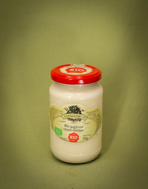 Bio joghurt 350g -almás fahéjas-