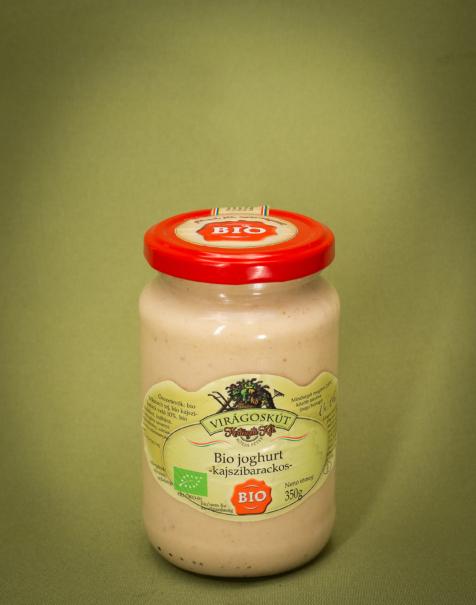Bio joghurt 350g -kajszibarackos-