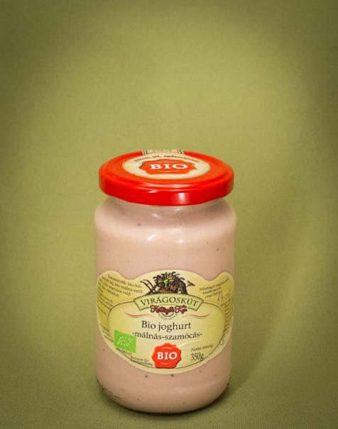 Bio joghurt 350g -málnás-szamócás-