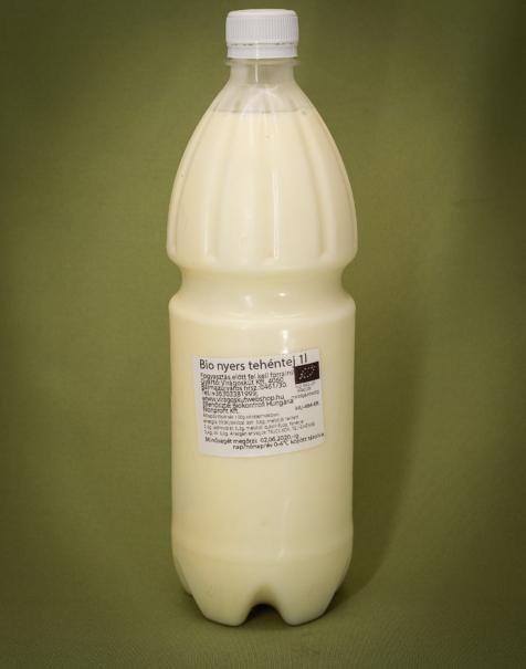 Bio nyers tej 1l