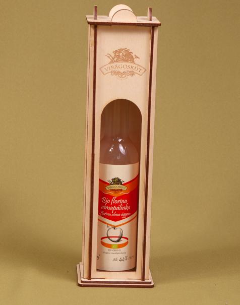 Bio florina almapálinka -florina alma ágyon- 44% 200ml, díszdobozban