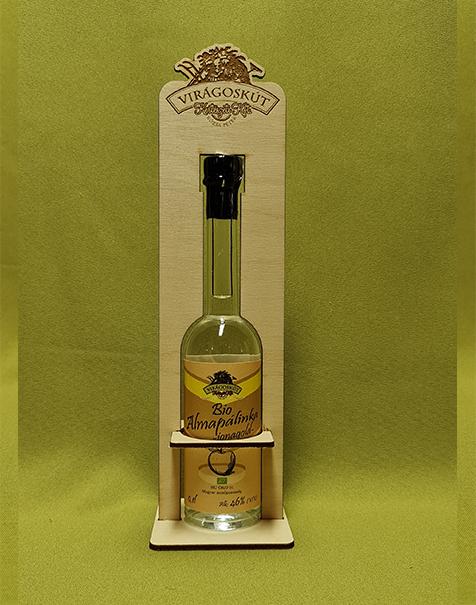 Bio almapálinka -jonagold- 100ml 46%, díszdobozban